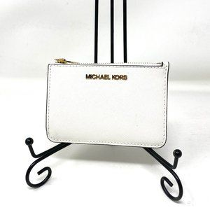 Michael Kors  Coinpouch ID Leather White Women's